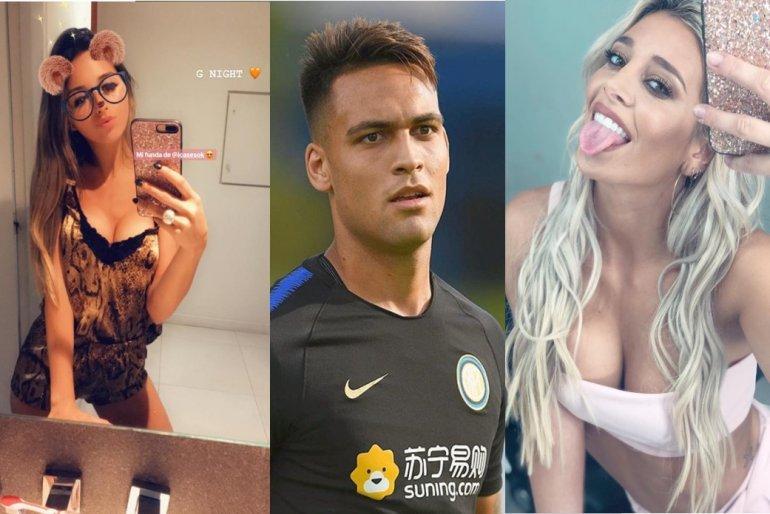 Sol Pérez, ex de Lautaro Martínez, y Agustina Gandolfo, su novia actual, comparten los mismos gustos