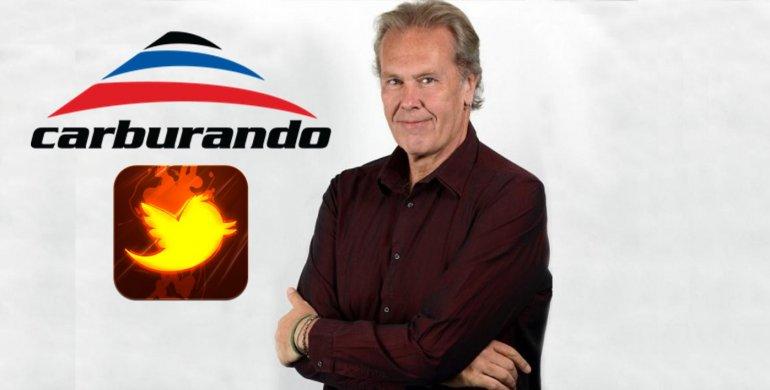 Guerra insólita: Gonzalo Bonadeo y el ciclo Carburando se dijeron de todo: Salí del termo